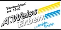 Kundenlogo A. WEISS ERBEN GmbH