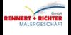 Kundenlogo von Maler Rennert + Richter GmbH