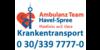 Kundenlogo von Ambulanz Team Havel-Spree