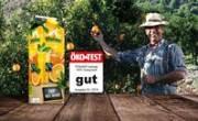 Öko-Test: 'Gut' für Pfanner FAIRTRADE 100% Orangensaft