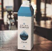 Drink Simple™ Maple Water provides plant-based hydration in combidome cartons from SIG