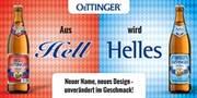 Neuer Name, neues Design – unveränderter Geschmack: Aus 'Hell' wird 'Helles'