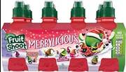 Merry…licious from Fruit Shoot brand introduces new limited edition Christmas flavour