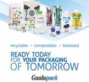 Ready today for your packaging of tomorrow - Gualapack commitment to a better world