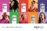 Aquarelle, a line of vodka-based canned drinks, launches across Canada with ad blitz