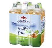 Lichtenauer 'Fresh'n FruiTEA' jetzt neu mit Matetee-Mango