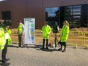 Topping-out ceremony at Carlsberg's new Water Recycling Plant in Denmark