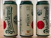 Pilsner Urquell cans get a modern makeover aimed to boost brand awareness