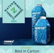 SIG-Packungen helfen Kunden, bei den Global Water Drinks Awards ganz groß zu gewinnen