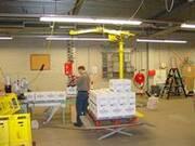 Schwere Lasten in der Getränke- und Lebensmittelindustrie transportieren
