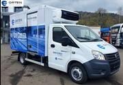 Neu! ORTEN Electric-Trucks mit vollelektrischer E 46 Gazelle 'CityCooler'