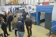 Koenig & Bauer offers close-up insights into rotary die cutting - Workshops on the Rapida RDC 10
