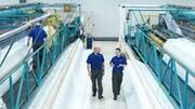 Featuring high-quality seams, Voith MultiFlex Advance and PrintFlex Advance press fabrics ...