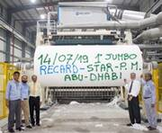 Successful startup of Star Paper Mill - Abu Dhabi - UAE