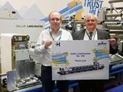 Gallus celebrates sold Labelmaster No. 100