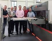 BOBST certificate for Bieling & Petsche Stanzformen GmbH, Austria with CITO ...