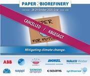 PAPER & BIOREFINERY CONFERENCE: CANCELLATION 2020