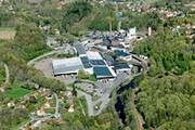 Arctic Paper nimmt erweitertes Wasserkraftwerk in Betrieb - Papierproduktion in Munkedal...