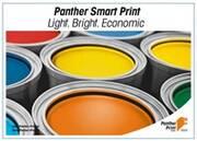 Panther Print mit leichtgewichtigem Papier weiterhin auf ressourcenschonendem Pfad
