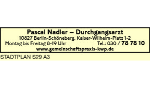 Logo von Nadler, Pascal - Durchgangsarzt