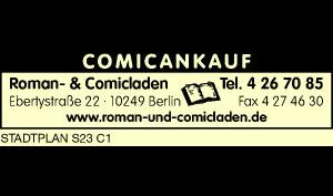 Logo von Roman- und Comicladen