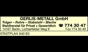 Logo von Gerlis-Metall GmbH