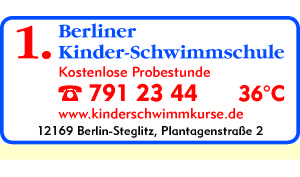 Logo von Berliner Kinderschwimmschule