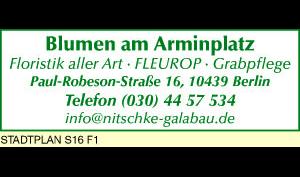 Logo von Blumen am Arminplatz