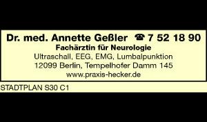 Logo von Geßler Annette Dr. med.
