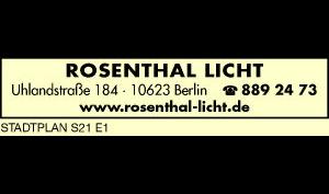 Logo von Rosenthal Licht