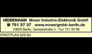 Logo von Moser Industrie-Elektronik GmbH