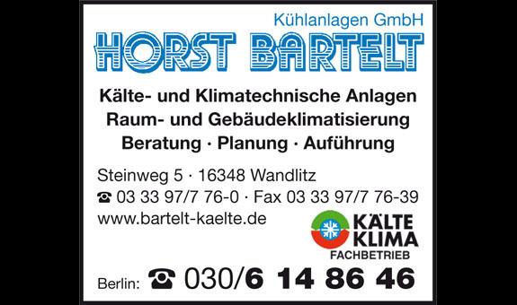 Logo von BARTELT Kühlanlagen GmbH