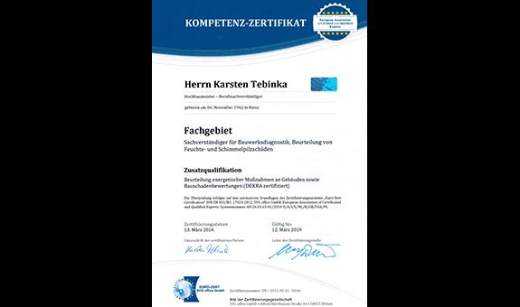 Logo von Bausachverständigenbüro Tebinka & Partner
