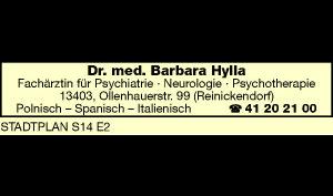 Logo von Hylla Barbara Dr. med.