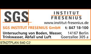 Logo von SGS Institut Fresenius GmbH