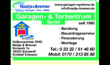 Logo von Hallenvertrieb OHG Nadje & Bremer