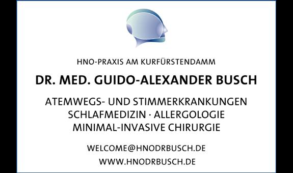Logo von Busch, Guido-Alexander, Dr. med.