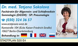 Logo von Sokolova Tatjana Dr. med.
