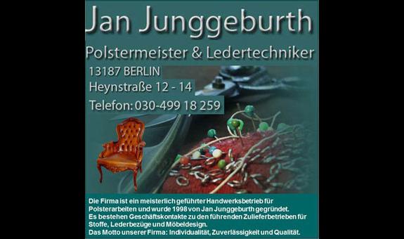 Logo von Junggeburth Ledermöbel-Spezial-Werkstatt