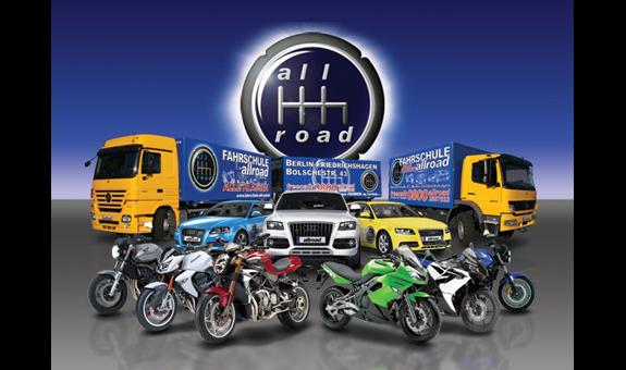 Logo von allroad Fahrschule