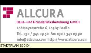 Logo von Allcura Haus- und Grundstücksbetreuung GmbH
