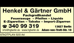 Logo von Henkel & Gärtner GmbH