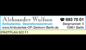 Logo von Wulfson Aleksander