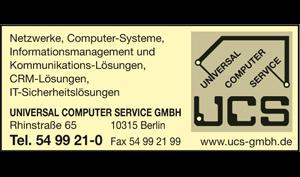 Logo von Universal Computer Service GmbH
