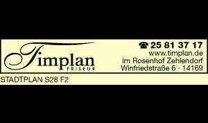 Logo von Timplan Friseur