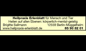 Logo von Heilpraxis Erlenblatt