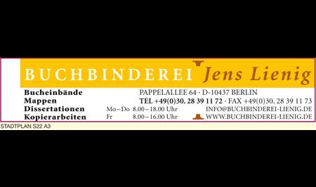 Logo von Buchbinderei Jens Lienig