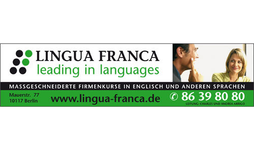 Logo von LINGUA FRANCA Daniel Cooper & Douglas Werner GbR