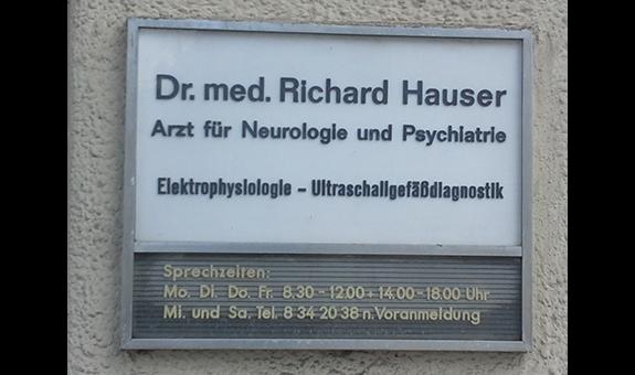 Logo von Hauser Richard Dr. med.