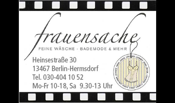Logo von frauensache Feine Wäsche - Bademode & mehr